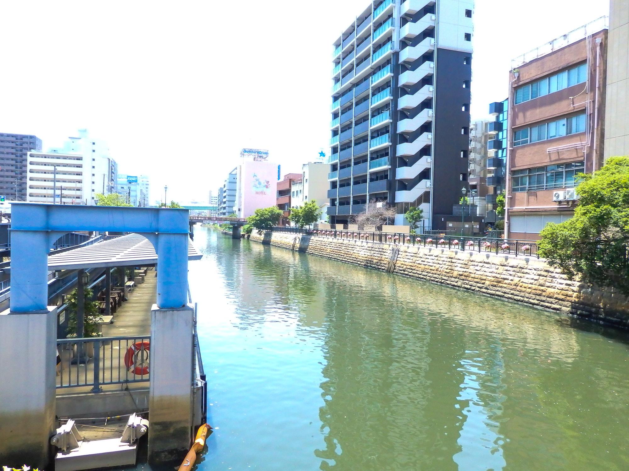小型船用浮桟橋(納屋橋)
